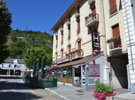 Terminus Hôtel des 3 Vallées, Мутье (рядом с городом Salins-les-Thermes)