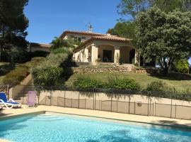 Villa des Garrigues, Parignargues (рядом с городом Montpezat)