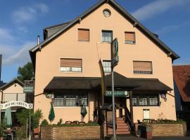 Hotel Restaurant Alt Laubach, Laubach (Grünberg yakınında)