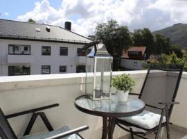 New apartment with a balcony, Bergen