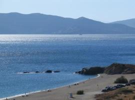 Garden house near Aegean beach