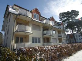 Ferienwohnung Ursula in der Villa zum Kronprinzen direkt gegenüber der Saarow Therme