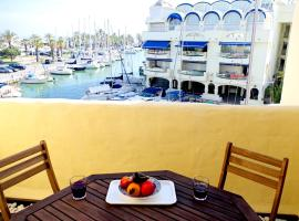 Puerto Marina waterfront apartment
