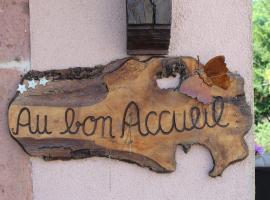 Au Bon Accueil Le Coquelicot, Thannenkirch