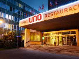 Hotel Uno, Ústí nad Orlicí (Dolní Libchavy yakınında)