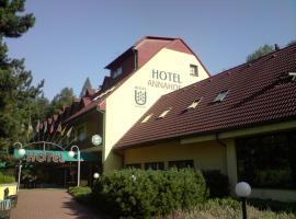 Hotel Annahof, Domašov (Kuřimská Nová Ves yakınında)