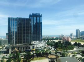 Seaview Loft Apartment, Qingdao (Shandongtou yakınında)