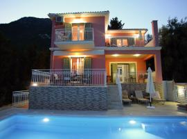 Villa Myrtis, Нидри (рядом с городом Perigiali)