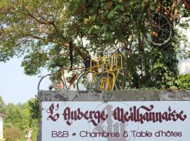 L'auberge Meilhannaise, Meilhan-sur-Garonne (рядом с городом Sainte-Bazeille)