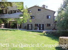 Le Querce di Campolungo, San Giustino (Near Sansepolcro)