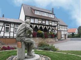 Gast- und Pensionhaus Zur Linde, Nienhagen (Sichelnstein yakınında)