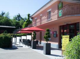 Le Rhien Carrer Hôtel-Restaurant, Ronchamp