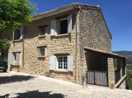 maison de charme en Luberon, Grambois (рядом с городом La Bastide-des-Jourdans)