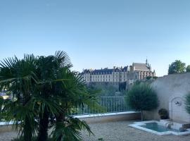 Le Clos des Remparts avec Vue sur Château