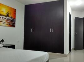 Hotel El Emigrante, Puerto Colombia (El Roble yakınında)