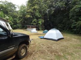 Camping Costa Rica, Tirimbina (La Virgen yakınında)