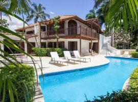 Elmore's Villa at Las Pinas, La Romana (Boca de Chavón yakınında)
