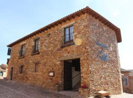 Casa Coscolo, Castrillo De Los Polvazares (Combarros yakınında)