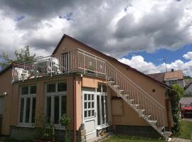 Apartman v zahrade, Nová Včelnice (Kamenice nad Lipou yakınında)
