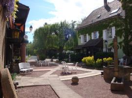 Hôtel au Moulin, Sainte-Croix-en-Plaine (рядом с городом Oberhergheim)