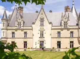 Chateau de Montreuil sur Loir, Montreuil-sur-Loir (рядом с городом Soucelles)