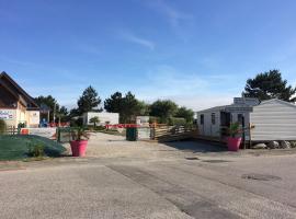 Camping De Collignon, Шербур (рядом с городом Турлавиль)
