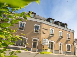L'Ermitage Hotel & Restaurant, Saulges (рядом с городом Cossé-en-Champagne)