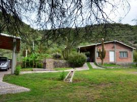 Emaús - Cabañas de Campo, Usno (San Agustín de Valle Fértil yakınında)