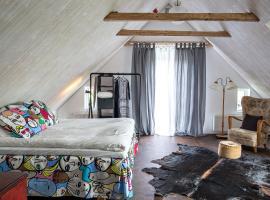 Studio på loftet i Sankt Olof, Sankt Olof
