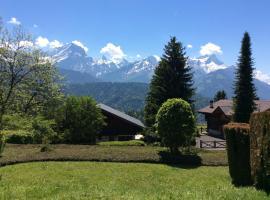 Alpine Swiss Chalet & breathtaking view, Villars-sur-Ollon (Ollon yakınında)