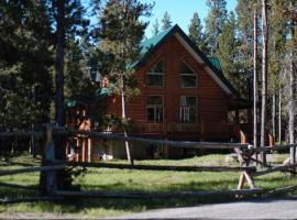Arrowwood Lodge, Island Park (in de buurt van Rea)