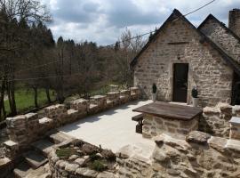 Castle Terrace, Faux-la-Montagne (рядом с городом Le Treich)