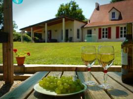 Maison le Bip en France, Saint-Sulpice-les-Feuilles (рядом с городом Mailhac-sur-Benaize)