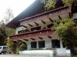 Hotel Pension Gasteig, Ultimo (Santa Gertrude nella Val d'Ultimo yakınında)