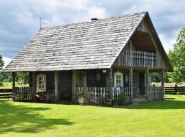 Gervių giesmė - country homestead, Viliūšiai (Nær Klangiai)