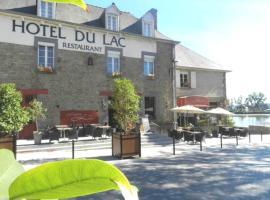 Hôtel Restaurant du Lac, Комбур (рядом с городом Dingé)