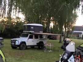 Nyírfás Camping, Надьканижа (рядом с городом Sormás)