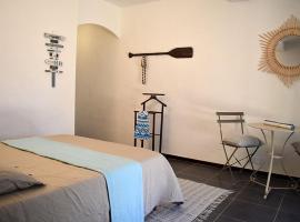 Chambre privée en villa