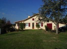 House Maison jeanborde, Serreslous-et-Arribans (рядом с городом Saint-Cricq-Chalosse)