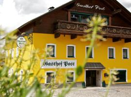 Gasthof Post, Peilstein im Mühlviertel