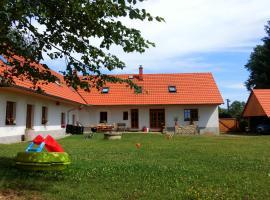 Apartman Farma Karhulka, Karhule (Louňovice pod Blaníkem yakınında)