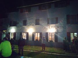 Albergo Lepontino, Varzo