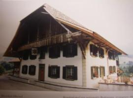 Pension Hirschen, Oberwil (Boltigen yakınında)