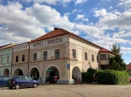 Hotel U Broucka, Nové Město nad Metují (Slavoňov yakınında)