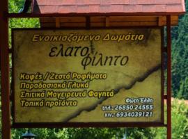 Hotel Elatofilito, Athamanio (рядом с городом Neraida)