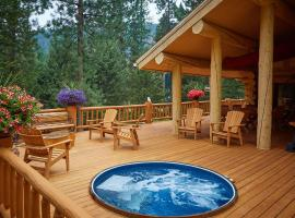 Bear Creek Lodge - Montana, Victor (in de buurt van Hamilton)