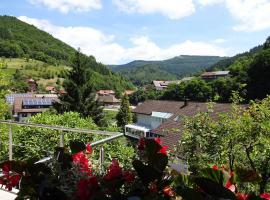 Ferienwohnung Marliese, Bad Peterstal-Griesbach (Bad Griesbach yakınında)