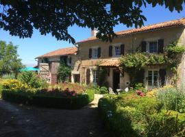 La Croix Bardon, Civray, Génouillé (рядом с городом Lizant)