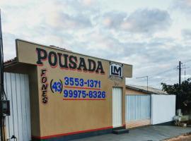 Pousada LM, Nova América da Colina (Cornélio Procópio yakınında)