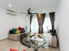 Duplex Apartment near LRT and Mall
